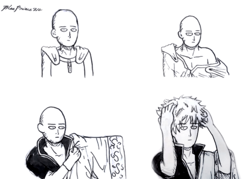 funny-anime-one-punch-man-revelation-shaved-head-gintoki
