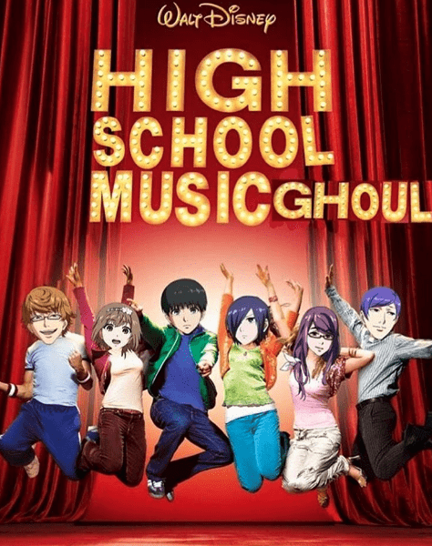 anime-disney-tokyo-ghoul-high-school-musical-crossover