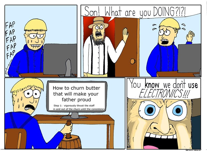 web-comics-father-catches-son-churning-butter