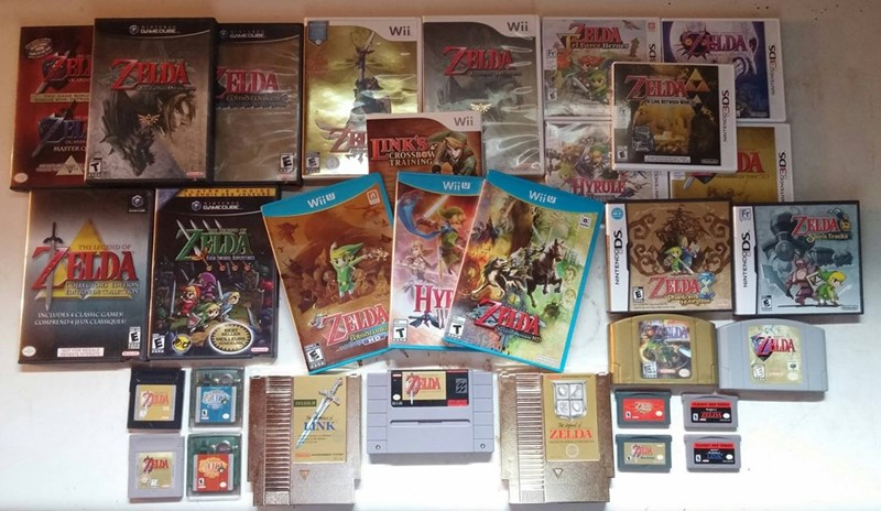 video-game-legend-of-zelda-collection-awesome