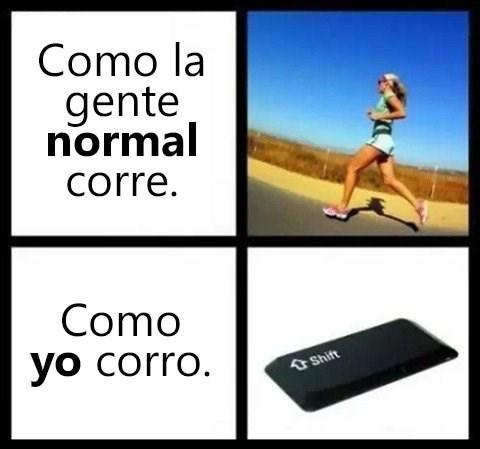 como corro