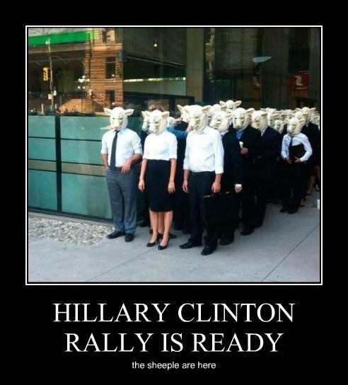 HILLARY CLINTON RALLY IS READY