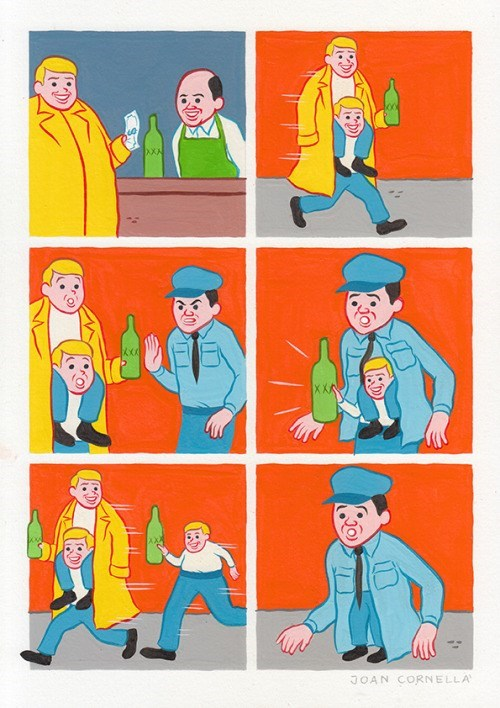 web-comics-funny-police-catching-guy-with-bottle