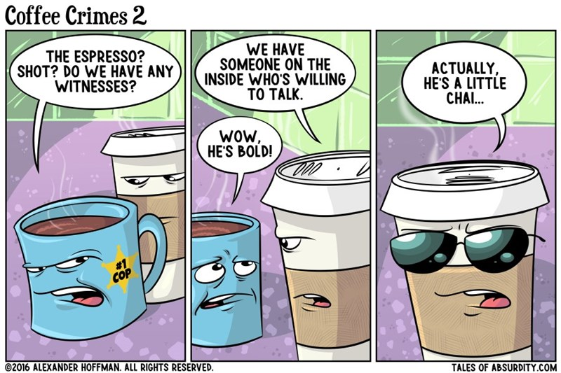 puns coffee web comics - 8821724160