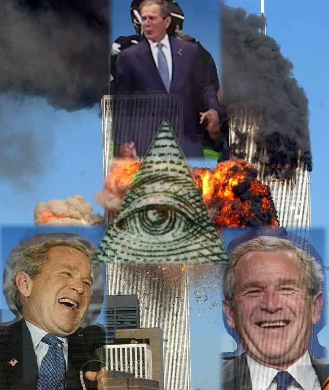 illuminati george w bush republican - 8821777920