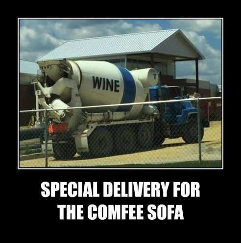 SPECIAL DELIVERY FOR  THE COMFEE SOFA
