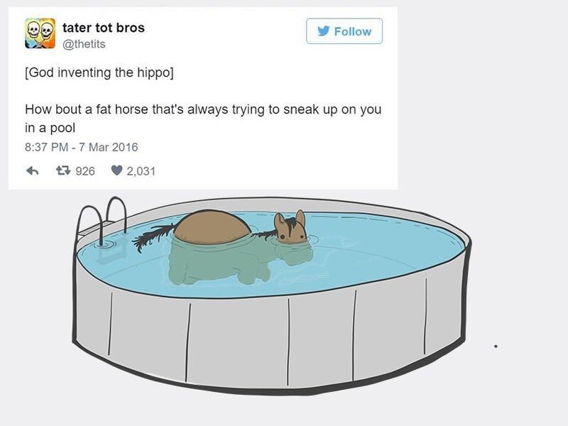 web-comics-funny-horse-meets-hippo