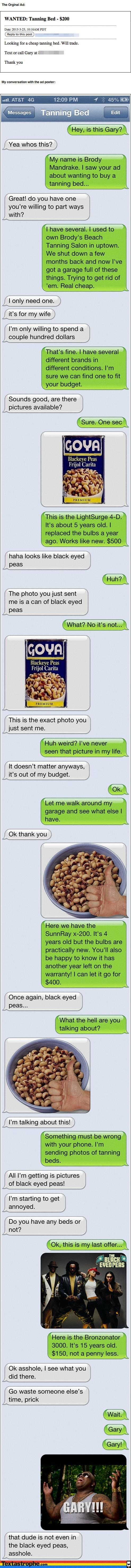tanning bed,text,prank