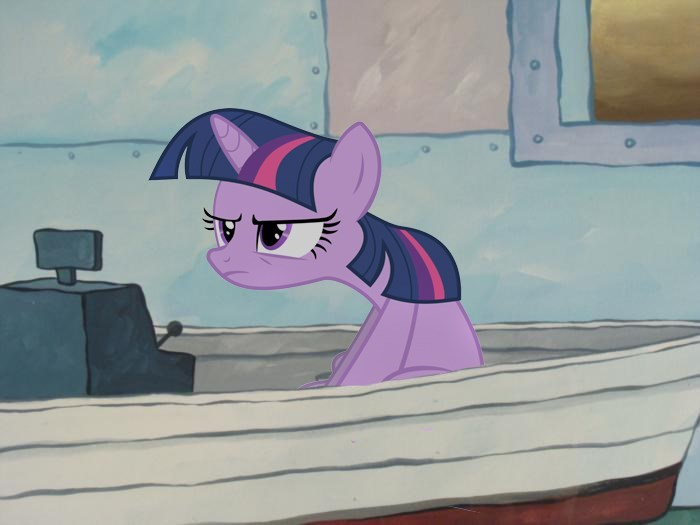 tfw twilight sparkle SpongeBob SquarePants - 8822276608