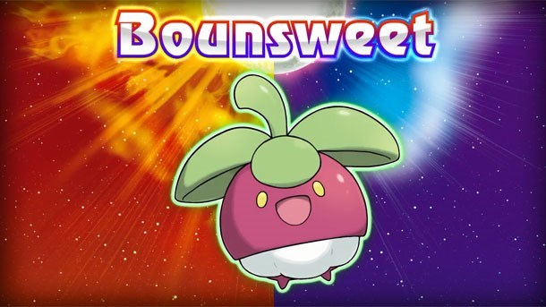 Animated cartoon - Bounsweet