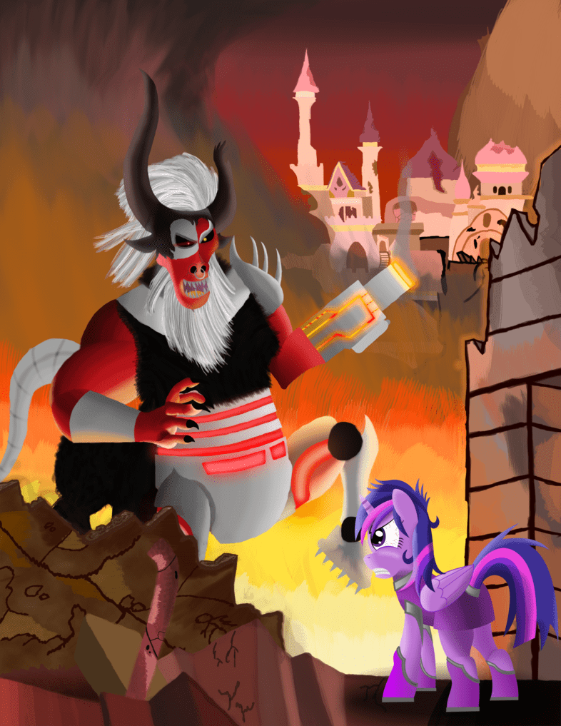 doom,twilight sparkle,tirek