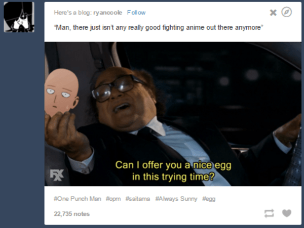 anime one punch man danny devito funny - 8822401280