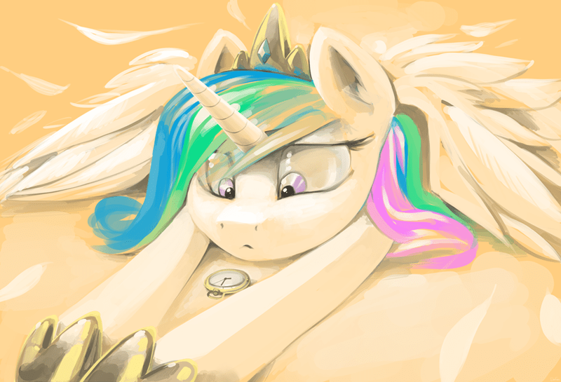 hiatus intensifying princess celestia - 8822429952