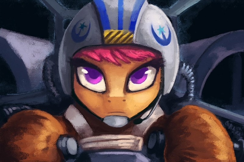 star wars,new lunar republic,Scootaloo