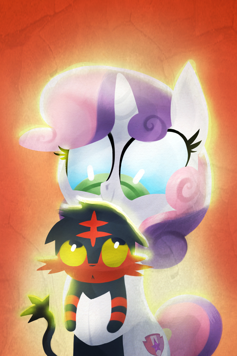 Pokémon,Sweetie Belle,litten