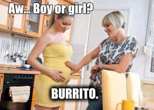 baby,burrito,pregnant