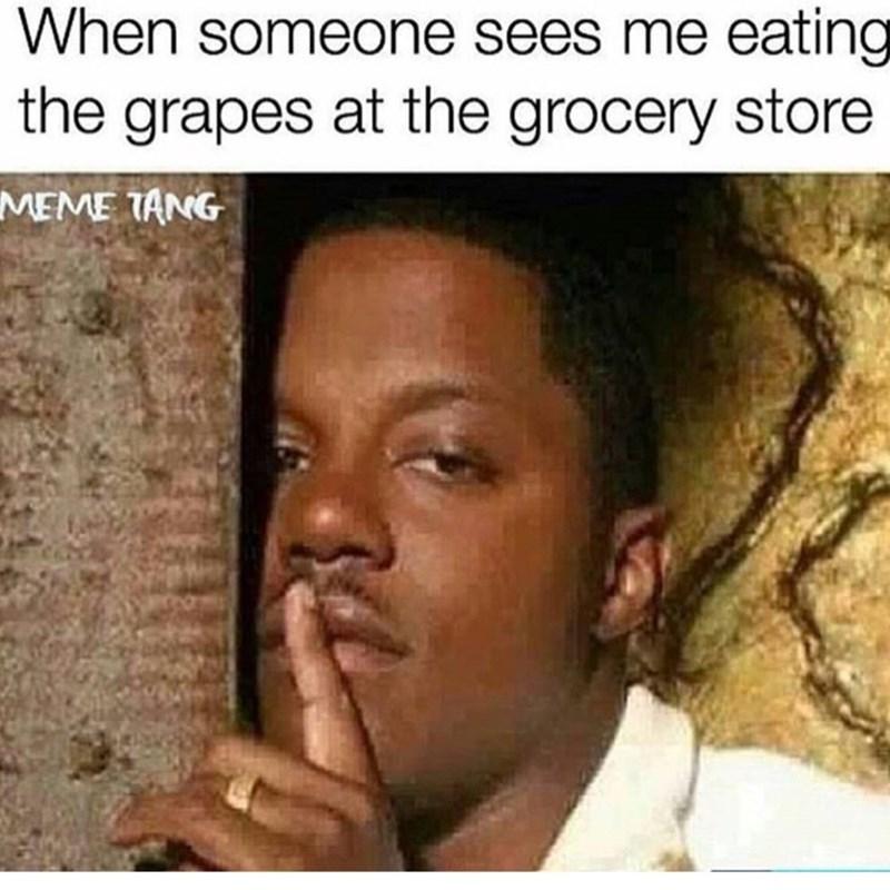 image memes shopping Shhh It's Like a Sample
