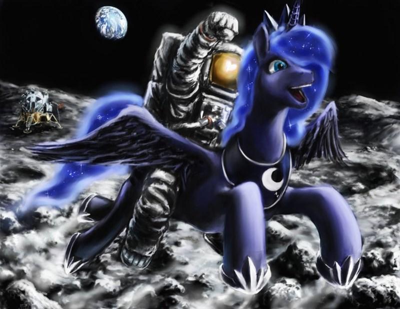 princess luna astronaut - 8823121664