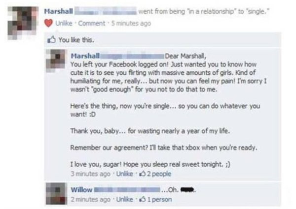 failbook facebook breakup dating - 8823185152