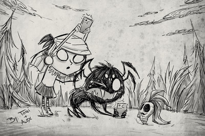 video-games-minecraft-meets-tim-burton-dont-starve