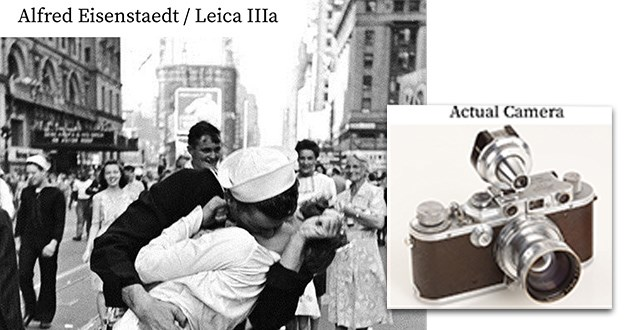 history famous photographs cameras