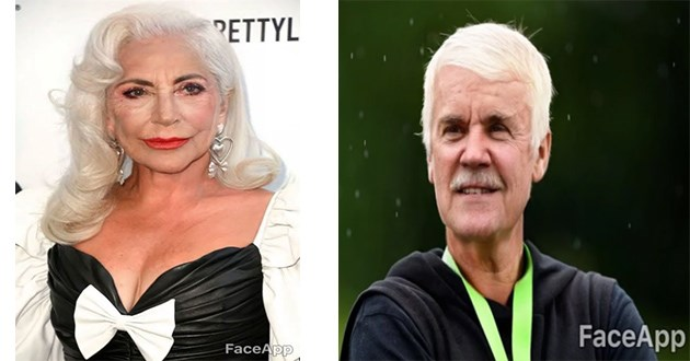 celebrity faceapp old scary