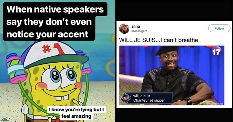 Funny memes about learning a language
