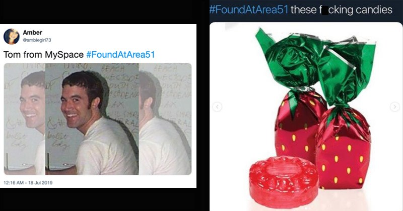 Funny memes about things people expect to find at Area 51