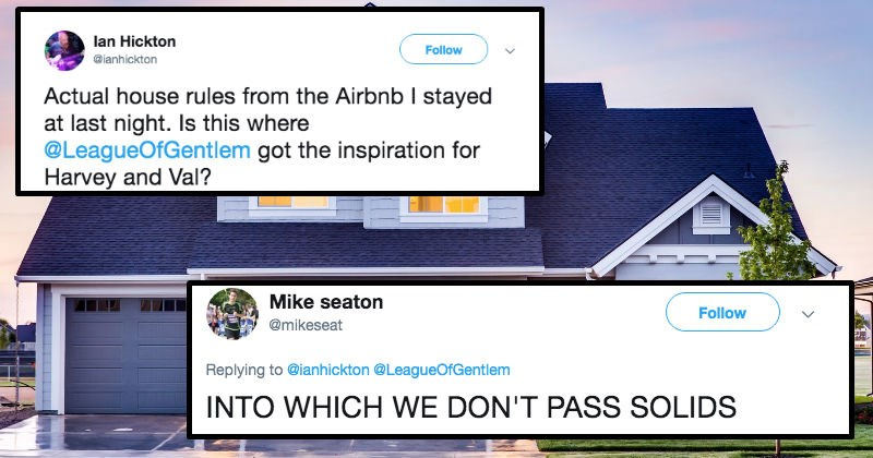 housing twitter house Airbnb social media ridiculous funny - 8845317