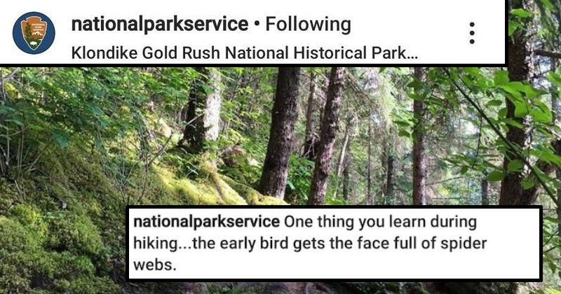funny national park service social media