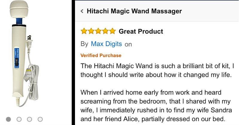 product review of a sex toy