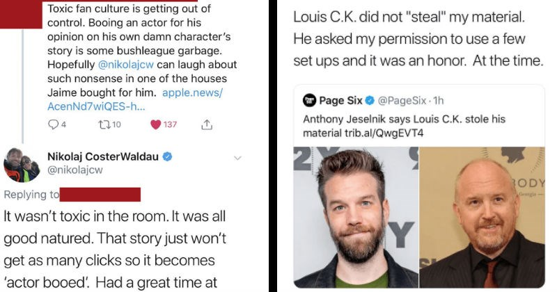Liars getting called out online for telling lies to people.