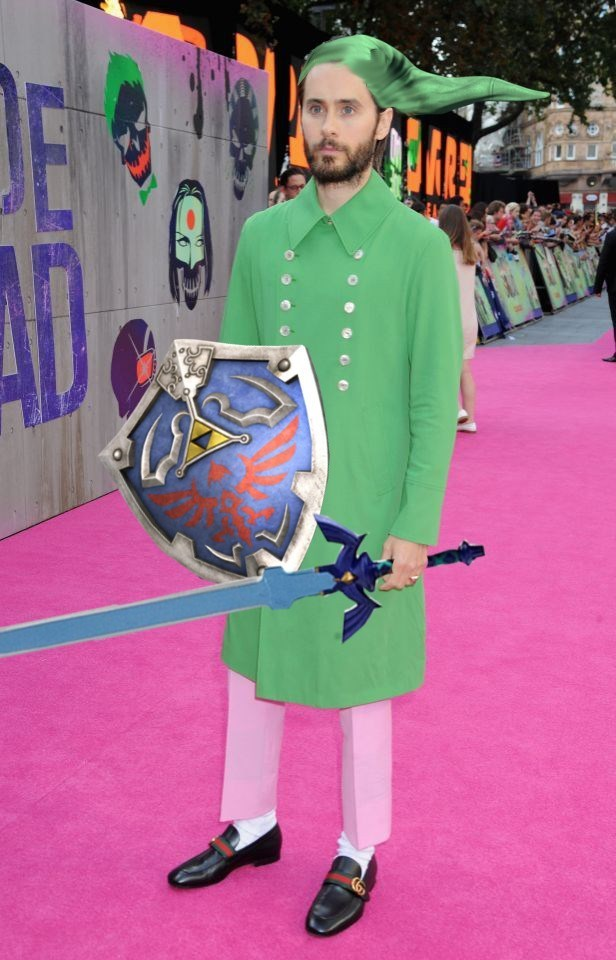 jared leto green coat photoshop