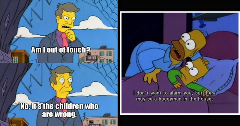 Funny moments from 'The Simpsons'
