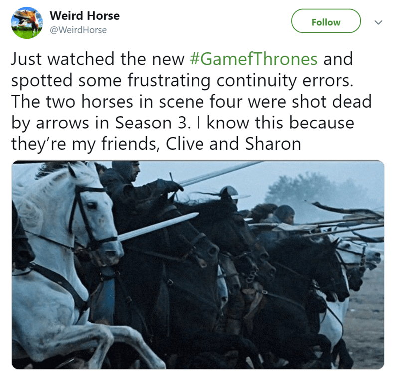 funny tweets by horse