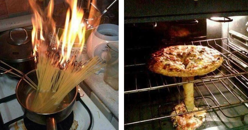 Funny pictures of times people messed up in the kitchen