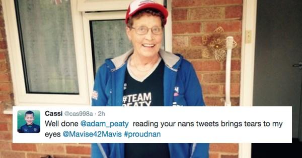 Olympics 2016 twitter grandma swimming olympics - 888837