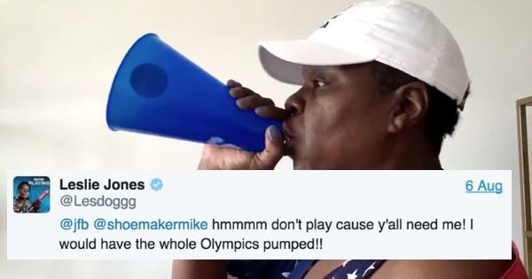 leslie jones twitter list 2016 olympics olympics - 889349