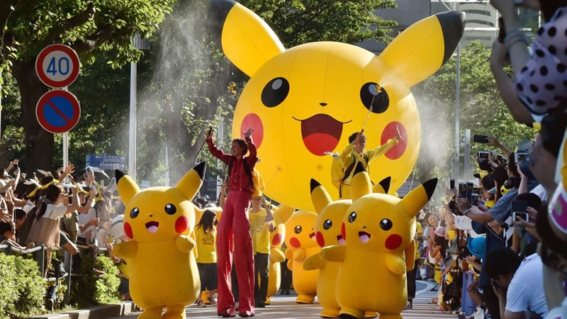 Pokémon,news,pokemon go,parade,pikachu,video games,win