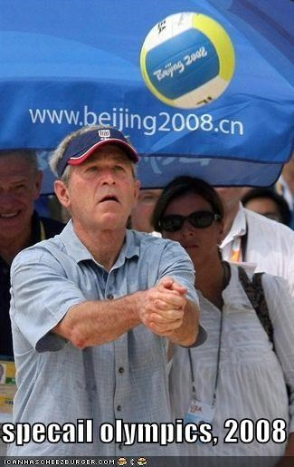 China george w bush olympics Republicans - 890967808