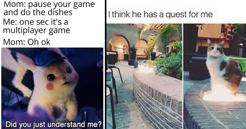 Memes about gaming