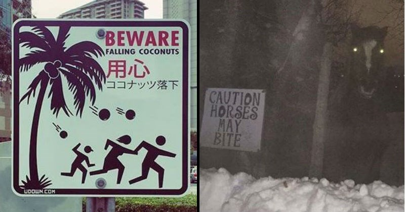 scary explosion spooky signs threat snakes monkey dangerous funny funny signs animals - 8928517