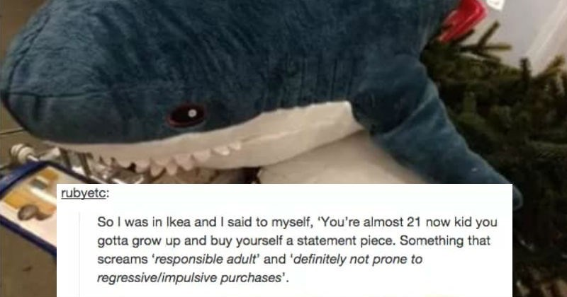 tumblr, toys, cute, sharks, funny, ridiculous, ikea