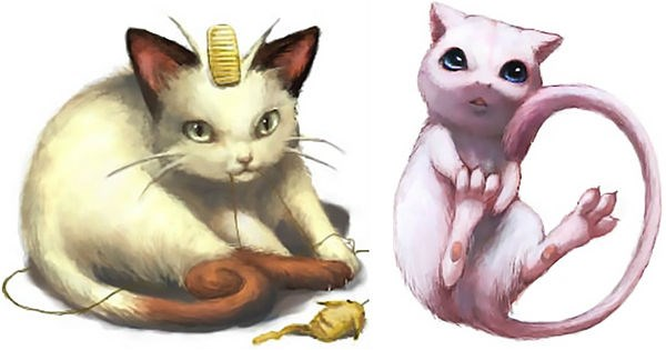 Pokémon art artist animals