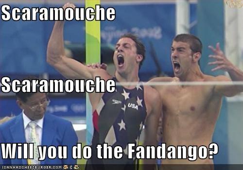 bohemian rhapsody Garrett Weber-Gale Michael Phelps olympics - 896336640