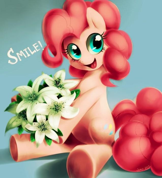 pinkie pie,smile