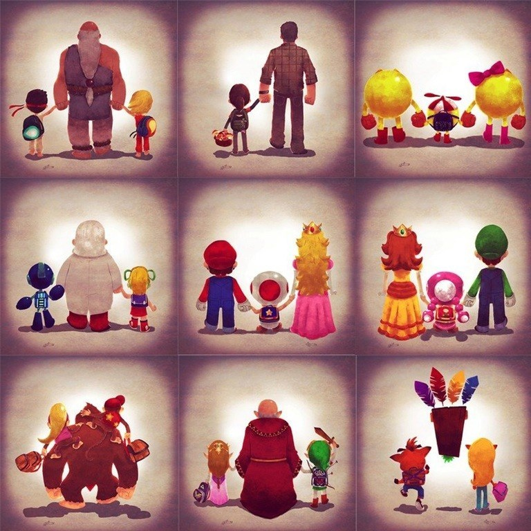 video-game-family-be-like