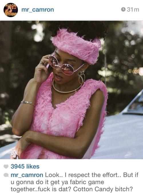 fashion instagram cotton candy