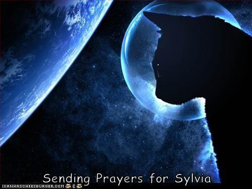 Sending Prayers for Sylvia