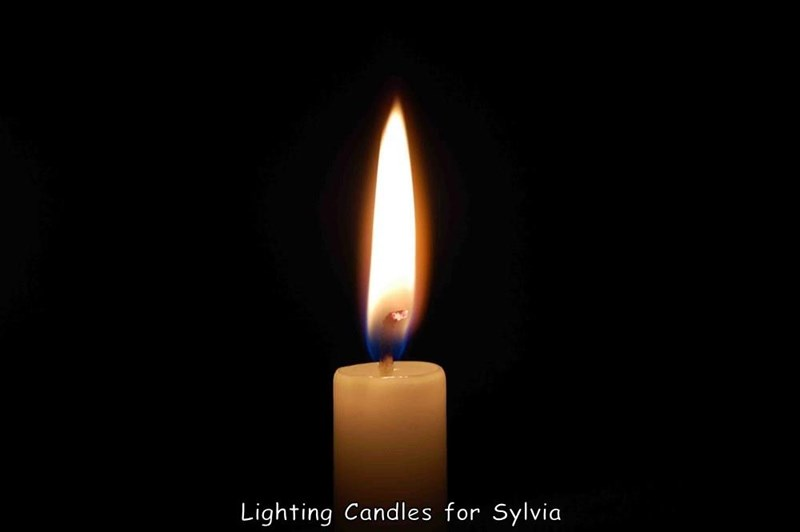 Lighting Candles for Sylvia